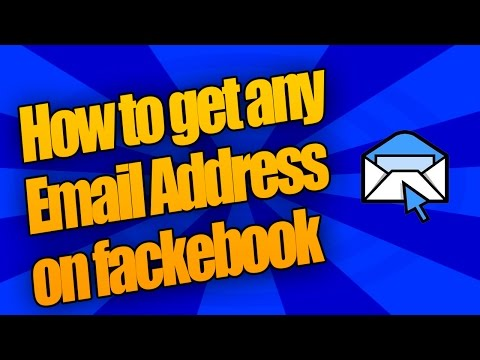 How to find email address on Facebook [Working]