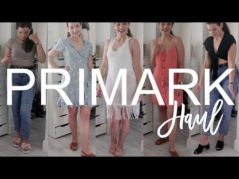 PRIMARK HAUL & TRY ON | June 2018