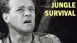 How to Survive in the Jungle | US Army Air Forces Training Film | 1944