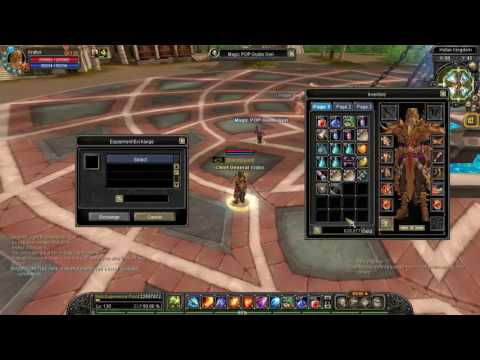Silkroad Online - How to use Equipment Exchange System