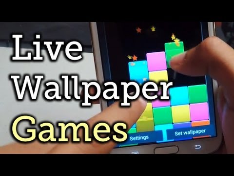 Top 7 Free Playable Live Wallpapers for Your Samsung Galaxy Note 2 or Other Android Device