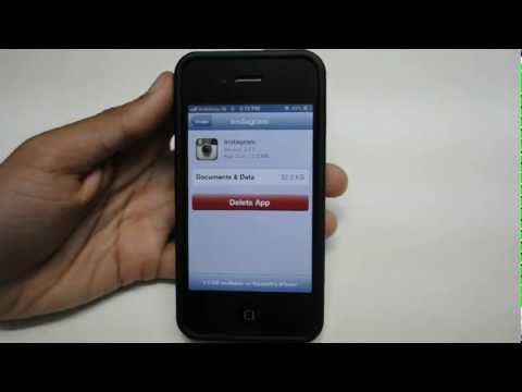 How To Save Space On iPhone, iPad and iPod Touch - DELETE APP CACHE // FREE MEMORY