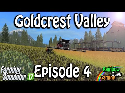 Farming Simulator 17 | Goldcrest Valley | #4 Canola Time!