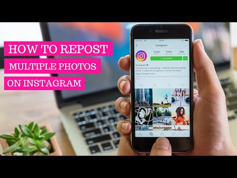 How To Repost Multiple Photos On Instagram