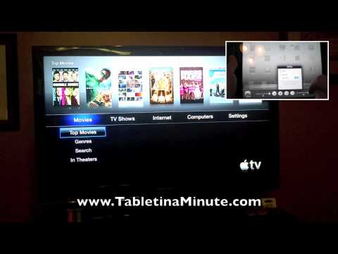 How to watch Hulu Plus on the Apple TV with an iPad 2