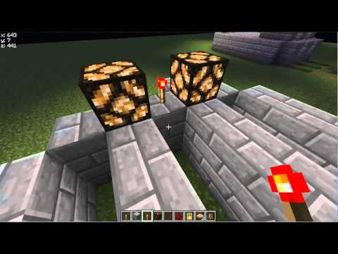 How To Make A Day and Night Detector/Sensor - Tutorial in Minecraft 1.4.4 (No Mods)