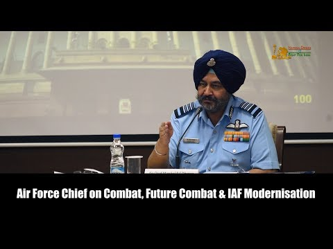 """ACM BS Dhanoa: """"There is misconception that Indian Air Force does not need 42 squadrons"""