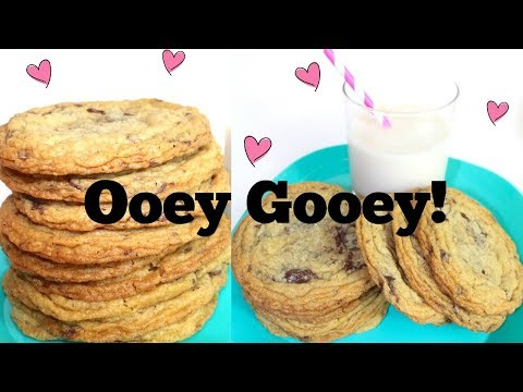 Chocolate Chip Cookies { Chunky Chewy & OH SO GOOEY! } Gluten + Dairy Free