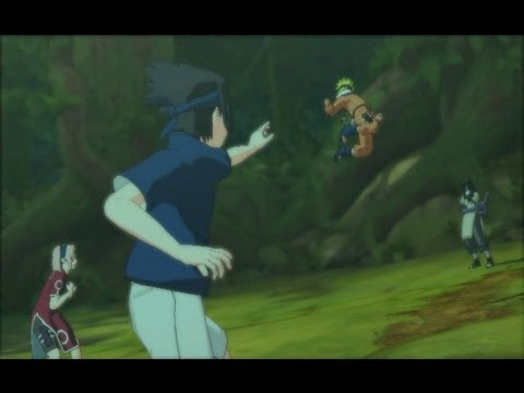 Naruto Ultimate Ninja Storm Series - Naruto Ultimate Ninja Storm Walkthrough Part 10 A Dark Plot Stirs (Chunin Exam Arc)