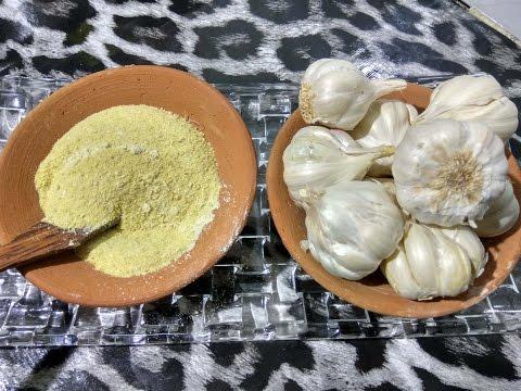 Garlic powder sundried homemade quick and easy recipe