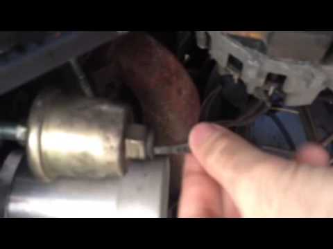 DMCToday.com - How to test and replace an oil pressure sending unit in a Delorean