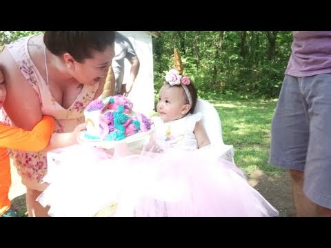 Emilia's First Birthday Party!