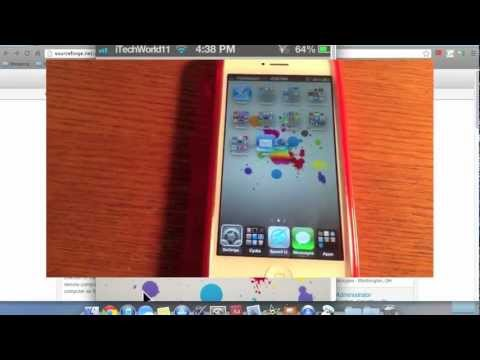 How to control your iPhone from your Mac (Jailbreak)
