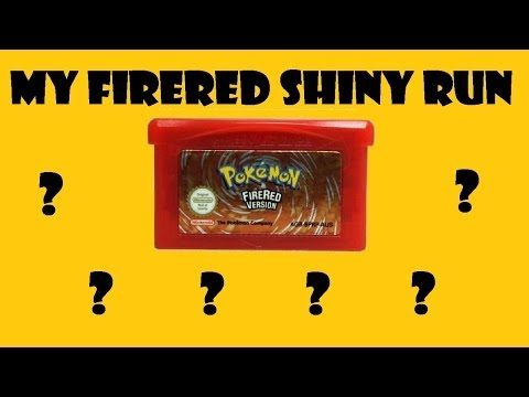 My FireRed Shiny Run - Part 1 : LIVE! Shiny Squirtle