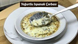 Yoğurtlu Ispanak Çorbası  - Naciye Kesici - Yemek Tarifleri