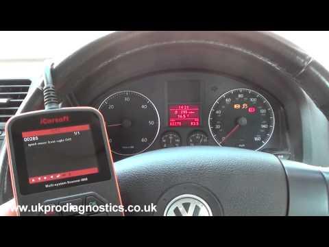 i908 Diagnose & Replace VW ABS Sensor on Jetta 00285