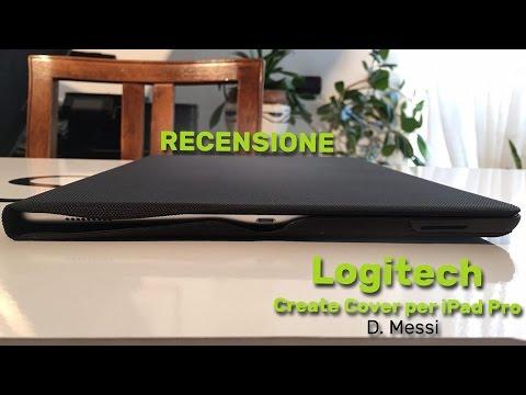 Logitech Create cover for iPad Pro la recensione di Spazio iTech