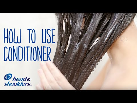 How To Use Conditioner After Shampoo | Healthy Hair Tips