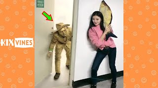 Funny videos 2021 ✦ Funny pranks try not to laugh challenge P191