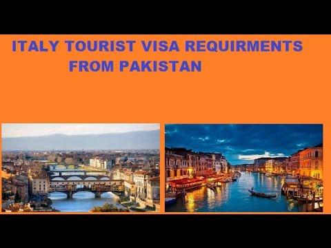 Italy Visit visa Requirment From Pakistan|| Italy Visa 2017 || Italy Tourist Visa ||