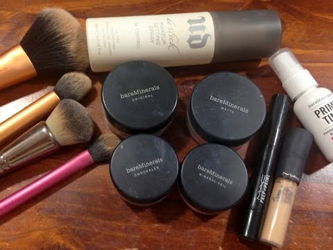 FLAWLESS & FULL COVERAGE | BareMinerals Foundation Routine + Tips