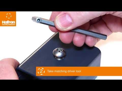 Introducing Pin Hex Security Screws
