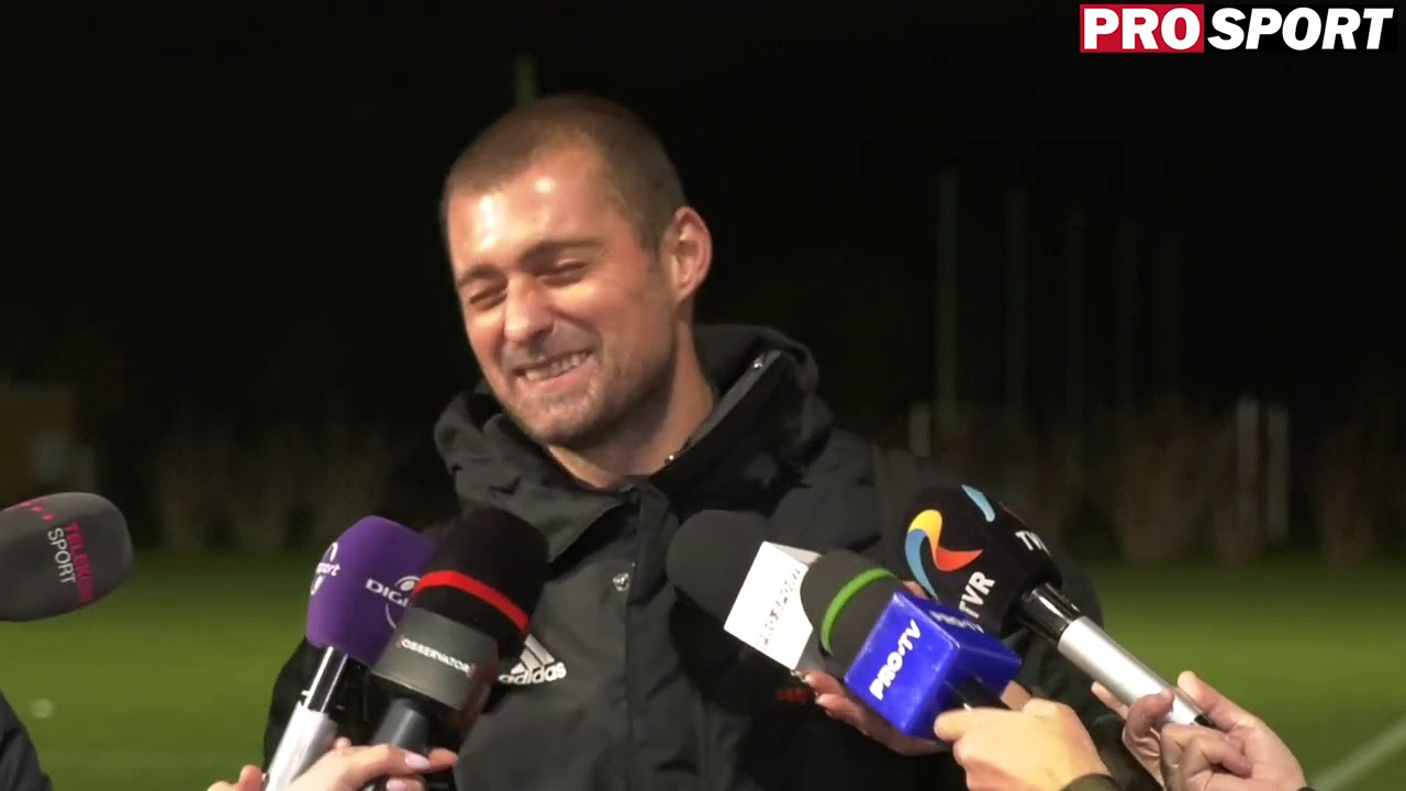 "Gabi Tamas: ""Las-o asa! Am adormit la pasele nationalei U21, dar m-am bucurat ca ne-am calificat"