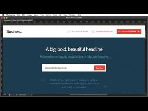 PSD to HTML - Introduction 01