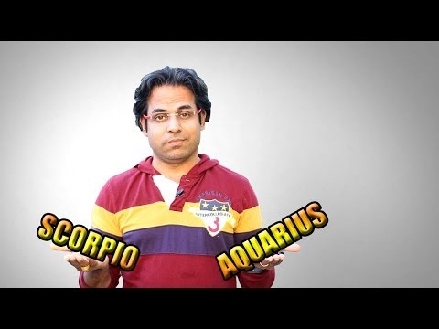 Curse of Scorpio & Aquarius zodiac signs in Vedic Astrology