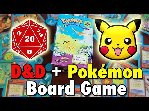 The 90's D&D + Pokémon Board Game