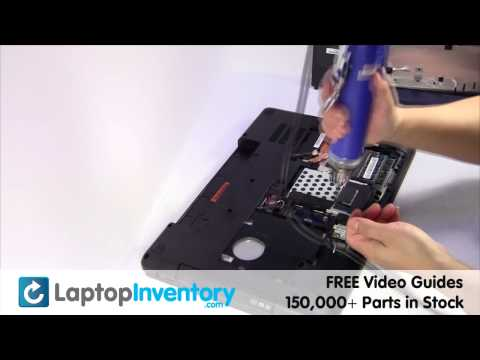 Lenovo IdeaPad Y580 Hard Drive Installation SATA Replacement Guide Install Laptop