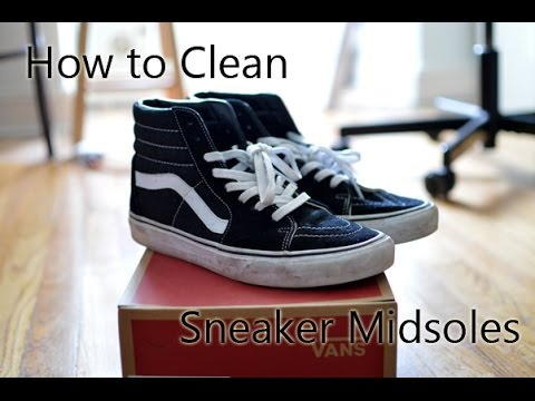 How to Properly Clean Sneaker Midsoles