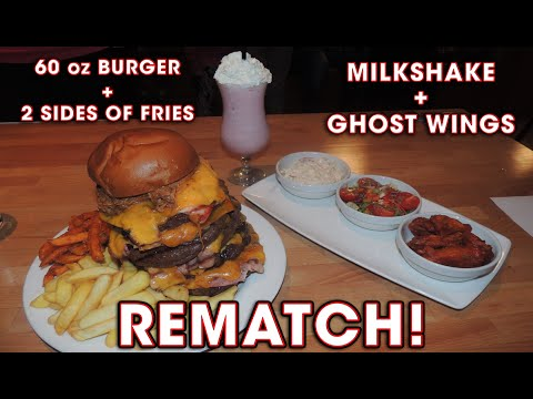 Rascal's Undefeated Burger Challenge!! (REMATCH)