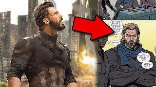 Lo que realmente pasó con el Capitán América antes de Infinity War