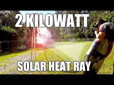 Preview Parabolic Solar Array for the Death Ray  2kW