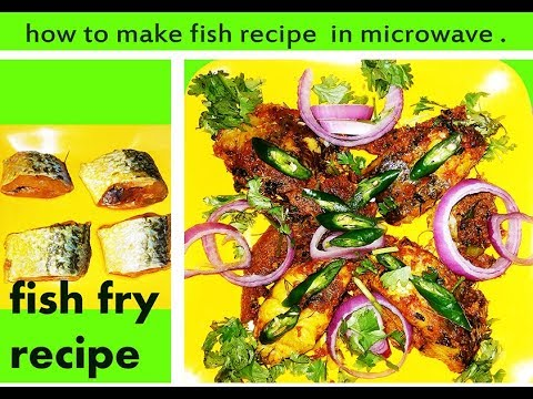 how to cook fish in microwave indian recipe
