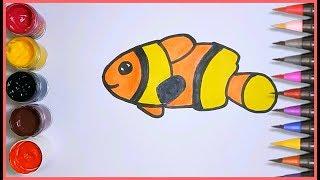 Unduh 88+ Mewarnai Gambar Ikan Badut HD Gratis