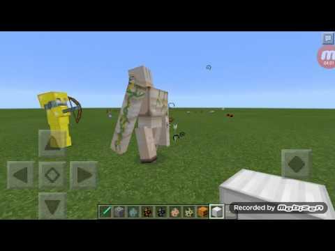 MCPE Some random Mob Battle
