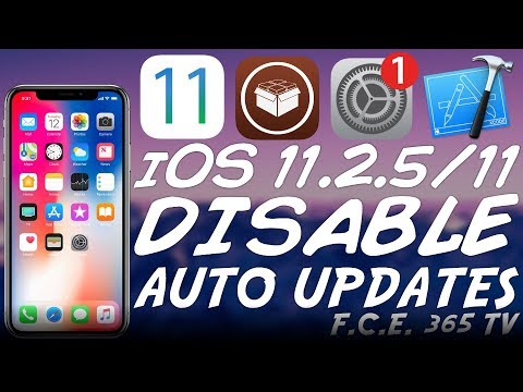iOS 11.2.5/11.0 Disable Automatic iOS Update (For Jailbreak) [New profile]