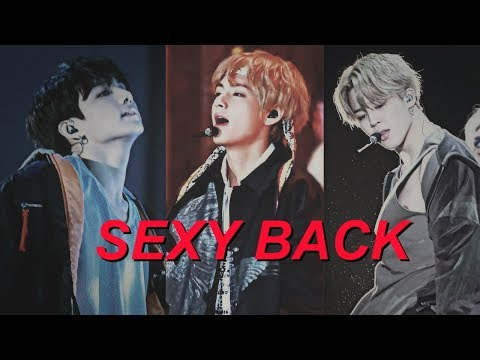 maknae line ▪ SEXY BACK 「collab」