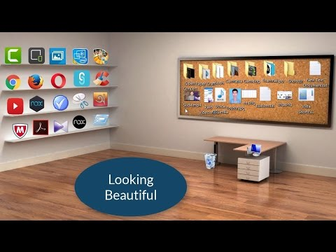 How to make a Beautiful Classic 3D Desktop in Windows 7/8/8.1/10 ।।  Make Classic 3D Desktop