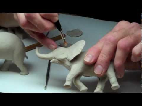 Learn Sculpting - Lesson 3, Part 3: Sculpt a Baby Elephant