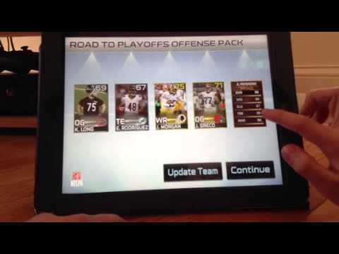 Madden 25 iOS pack opening