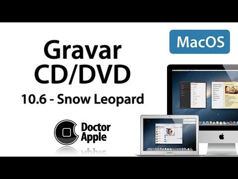 Curso Apple Mac - Gravar CD e DVD no Mac OSX