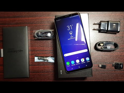 Samsung Galaxy S9 Plus Unboxing!
