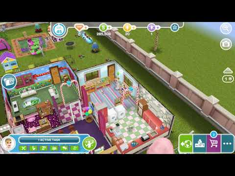 Perform Triple Pickle Flip Using A Diving Board In A Neighbor's Sims - Social Task - Sims Freeplay