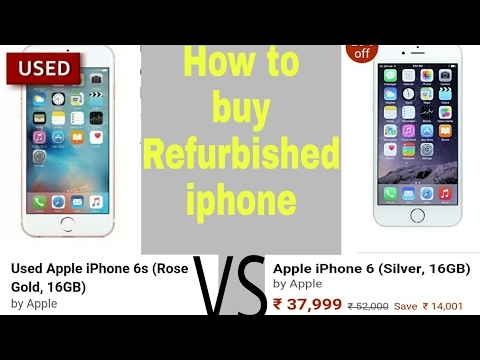 How to buy refurbished iPhone