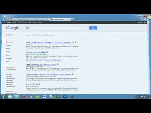 Setting Google as your default search engine in IE