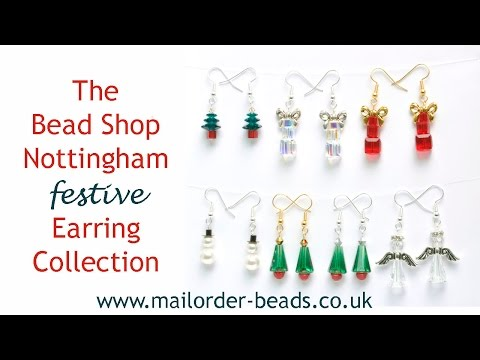 Festive Christmas Earrings: DIY