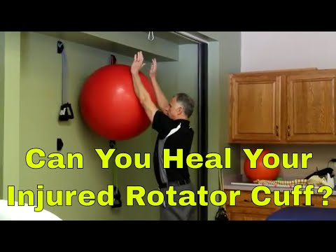 Can You Heal Your Injured Rotator Cuff?  (Shoulder Pain & Weakness)